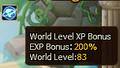 World EXP Level Bonus Server 1.PNG