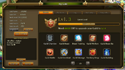 Guild Interface