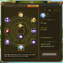 Guild Skills