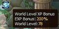 World EXP Level Bonus Server 29.PNG