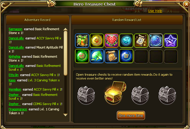Hero Treasure Chest