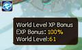 World EXP Level Bonus Server 64.PNG