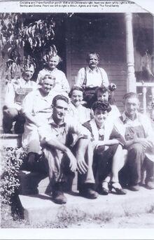 Frank & Christina Fencl family