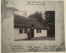 Our Old Home in Dalby, Danmark