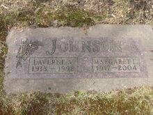 Laverne & Margaret Johnson