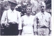 John, Cora, & Garl Spaulding