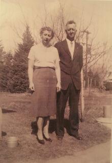 Violet & Francis Johnson