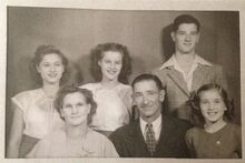 Harry & Gladys Fencil family