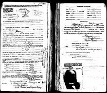 Passport Application - Ole Johnson