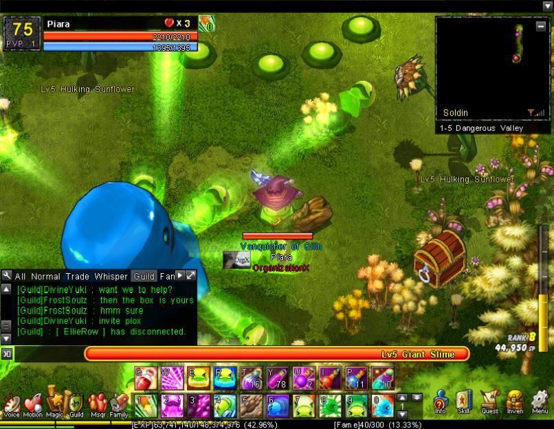 Multi-Slime Blast (1-5H)