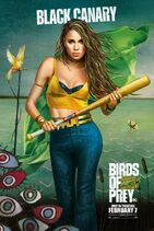 BirdsofPreys Poster BlackCanary