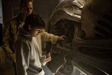 Jonathan montre Clark vaisseau