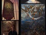 Peinture de Saint Michel chassant Lucifer du Paradis