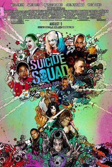 Suicide Squad-Affiche officielle