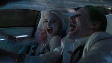 Joker harley voiture