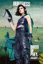 BirdsofPreys Poster Huntress