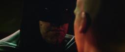Batman menace Luthor