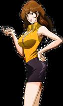 Fujiko Mine transparent