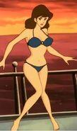 Fujiko in her bikini
