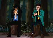 Green Jacket Meeting Goemon