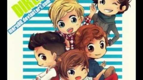 One Direction Cartoon 3