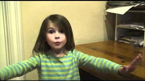 Allie - 5 year old sizes up her Youtube Competition - Full Video
