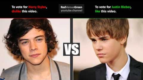 Justin Bieber vs Harry Styles - Who's better? (RvG duel)
