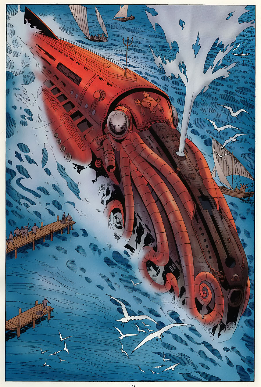 nautilus league of extraordinary gentlemen wiki fandom