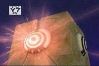 A Blok charging its laser
