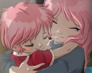 Aelita z mamą