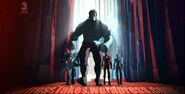 Iron man armored adventures rescue war machine gray hulk