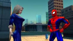 Spider Man i Black Cat