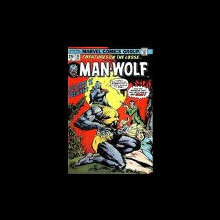 Man Wolf na okładce komiksu