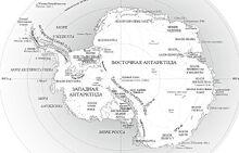 Antarctica na karte