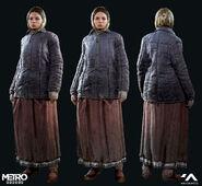 Катя - Зимний костюм