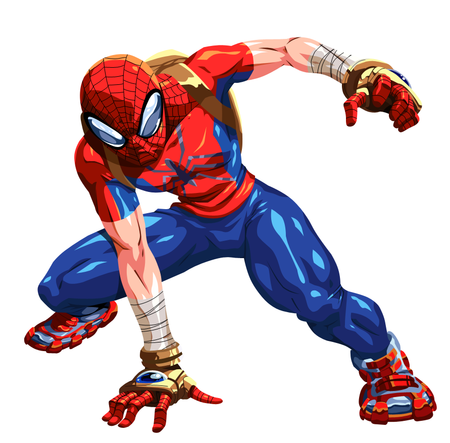 Spider Man Peter Parker In The Lego Incredibles Videogame: Ziemia-2301 ( Mangaverse )