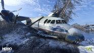 Упавший самолет - Волга