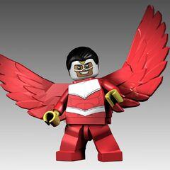 Falcon w wersji Lego