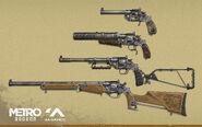 Revolver Concept Art
