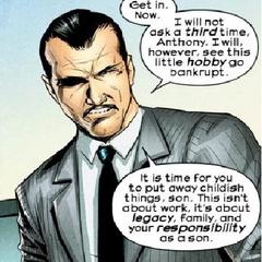Howard Stark w komiksie