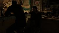 Бурбон договаривается с Михой