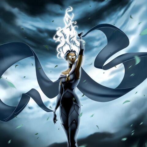 Storm używająca mocy