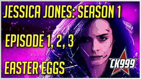 Marvel's Jessica Jones Season 1 Episode 1, 2 ,3 Hidden Easter Eggs & Secrets