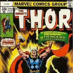 Thor na okładce komiksu