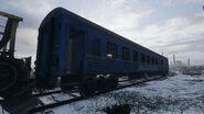 Пассажирский вагон Волга