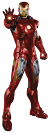 Iron Man Armor Mark VII (transparent)