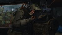 Мельник связывается с экипажем