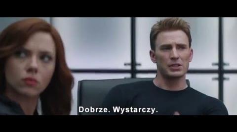 Kapitan Ameryka wojna bohaterów - polski zwiastun 2 napisy HD-1