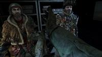 Мельник и Хан в оружейной