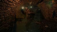 Хан в туннеле около Реки Судьбы